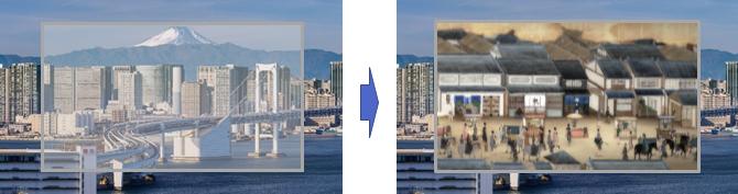 明るい背景でもクリアな映像表示・AR演出が可能な透明スクリーンを開発
