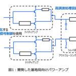 東芝、無線基地局向け高効率パワーアンプを開発