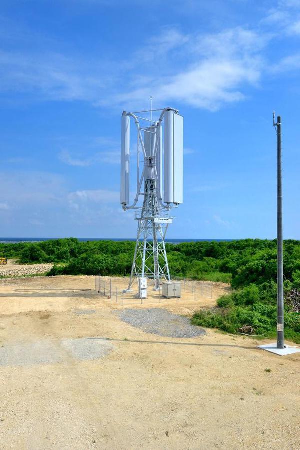 日鉄エンジとチャレナジー、垂直軸型マグナス式風力発電機に関する技術を検討