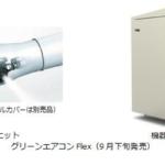 パナソニック、簡易施工型の極微細ミスト式冷却機を発売