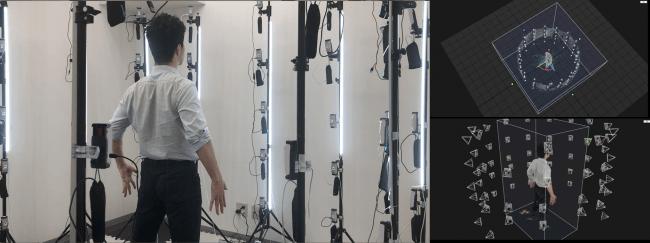 全身3Dスキャン用撮影キットを開発