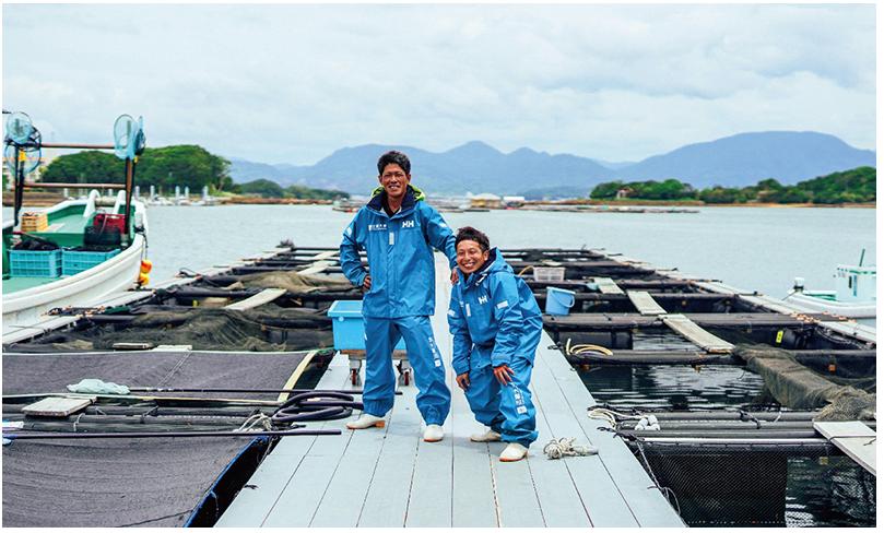 海洋作業従事者のためのウェアを開発開始