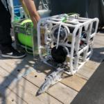 小型水中ドローンによる深海1,000m域の生物共同研究を実施