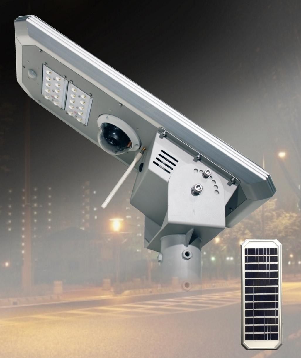 世界初の新技術 AIカメラ&アルカスソーラー街路灯