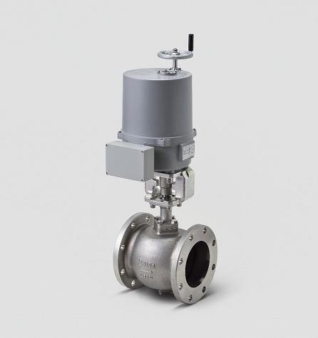 各種水処理施設などの設置・運用コストを低減する電動セグメントボールバルブを開発