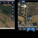 テックファーム、ドローンで農地の生育状況を確認するアプリとシステムを開発