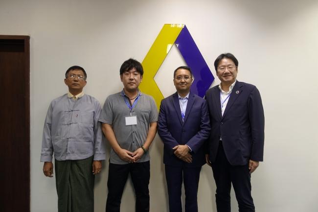 ミャンマー無電化地域でブロックチェーン技術活用に向けた連携を発表