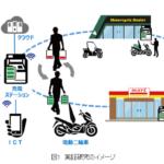 NEDOが電池シェアリングシステムの実証実験を海外で実施