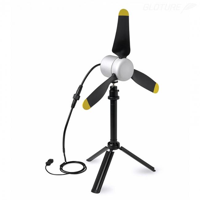軽量・ハイパワーなポータブル風力発電機販売開始