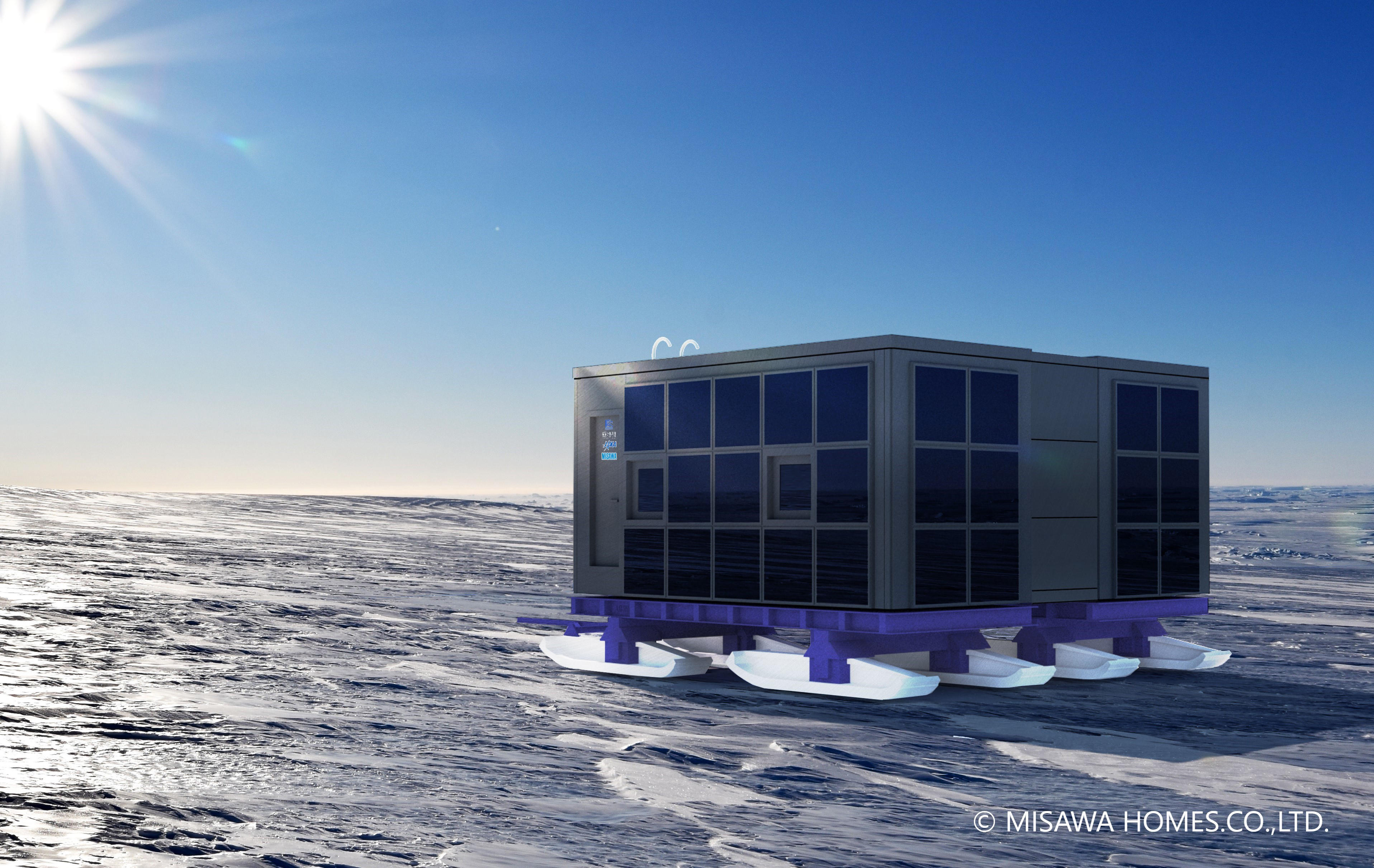 JAXAら4者 「南極移動基地ユニット」実証実験を実施