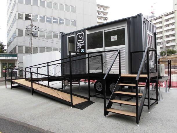 ランドピア、東京都千代田区から喫煙トレーラーを受注