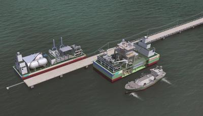 川崎重工、浮体式LNG発電プラント(CCPPモデル)の基本承認を取得