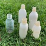 生分解性樹脂とセルロースナノファイバーの複合材料を用いて生分解性ボトルを試作