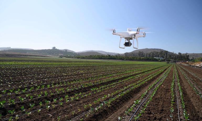 DJI、精密農業・土地管理用ドローン「P4 MULTISPECTRAL」を発表