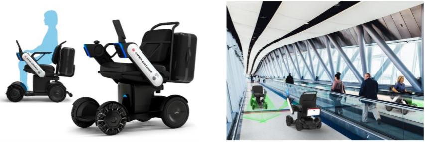 羽田空港において、次世代型電動車いすの自動運転の試験走行を実施