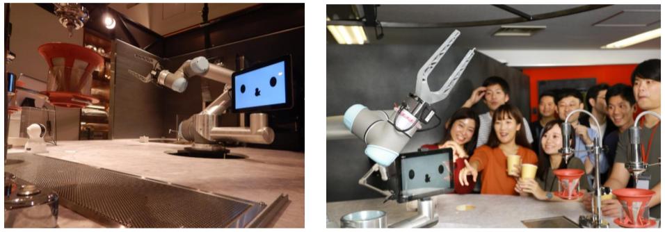 AI搭載ロボットを用いたカフェ「カフェロボット」を期間限定オープン