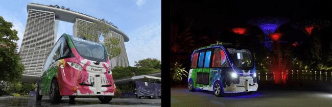 WILLER、シンガポールの大型植物園で自動運転の有償サービスを開始