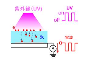北海道大学が、UV照射で逆方向電流が流れることを発見