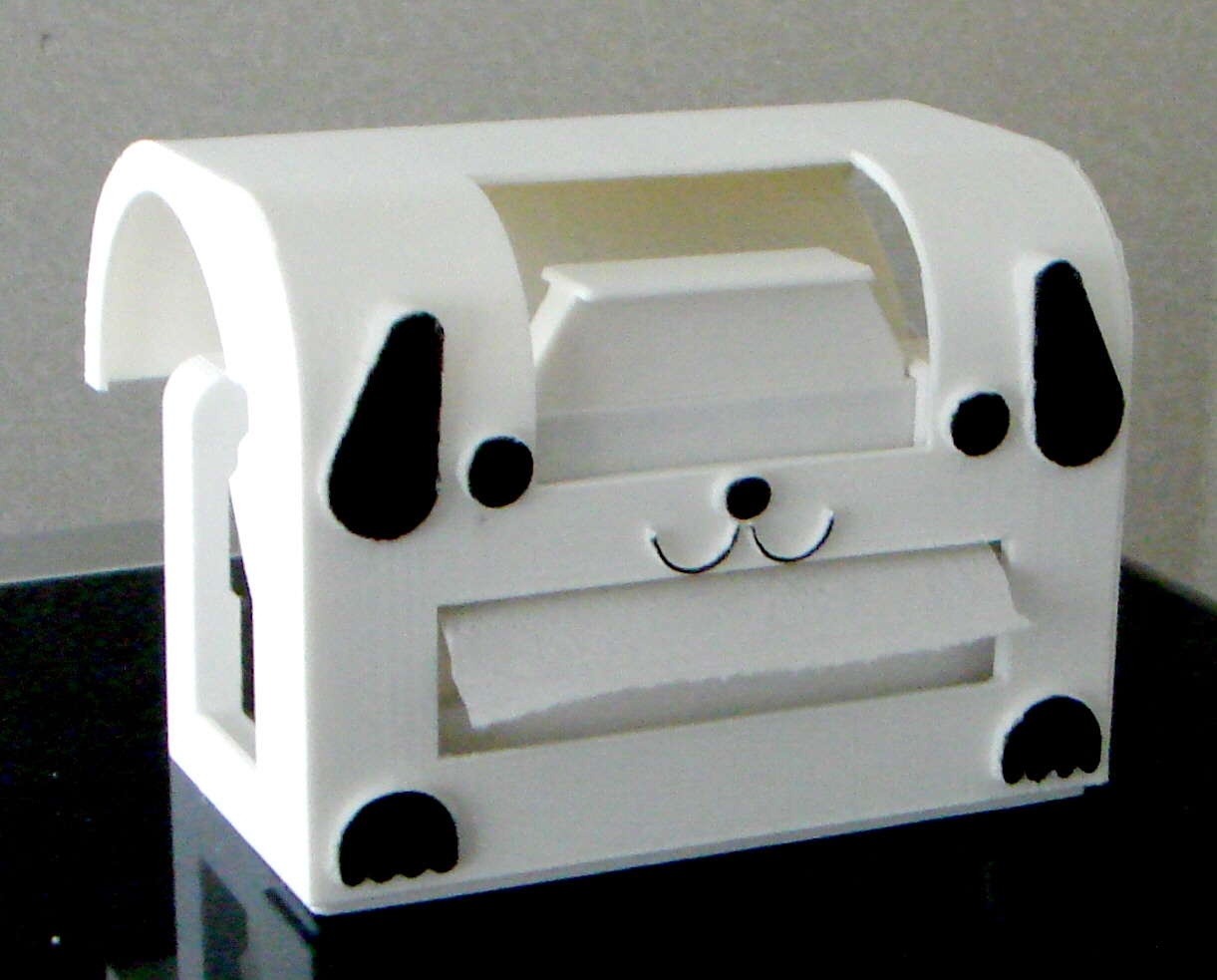 地球温暖化防止材料で作られ、使う紙も節約できるトイレットペーパーホルダー