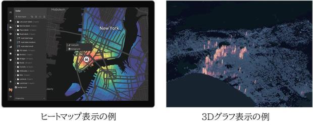 膨大なデータを地図でリアルタイムに表現できる「Mapboxサービス」を販売開始