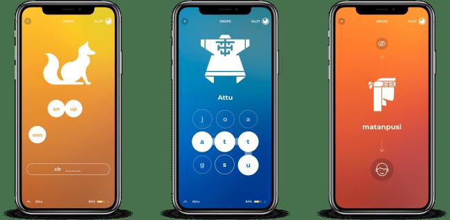 文化を守る言語学習アプリ『Drops』が「アイヌ語」初のデジタル化