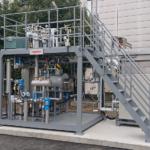 アサヒクオリティーアンドイノベーションズ向けにCO2分離回収試験装置を納入