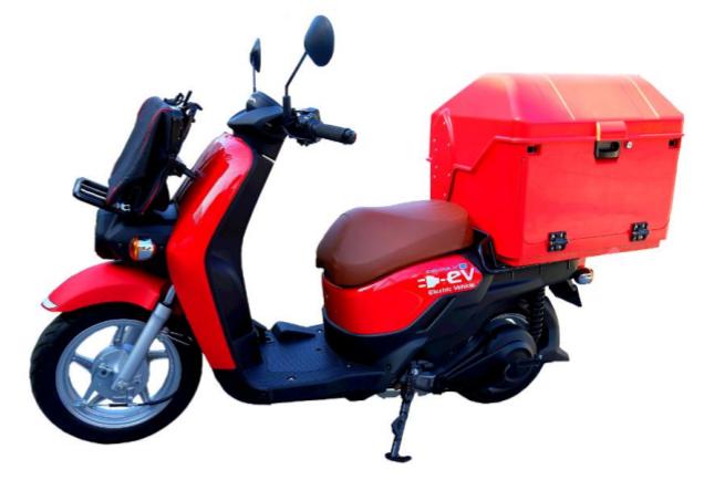 日本郵便とホンダ、郵便配達業務用電動二輪車の導入について合意