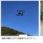設定したルートを自動飛行するドローンのアプリを開発。自動飛行の実験に成功いたしました。