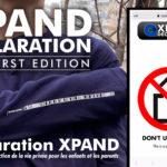 Tシャツとアプリで子供と親のプライバシー保護! 「XPANDデクラレーション」欧州でリリース!