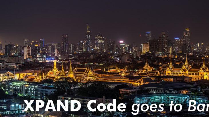 超非接触ツール「XPANDコード」タイ・バンコクへ! ASEAN最大級のスタートアップイベントに出展!