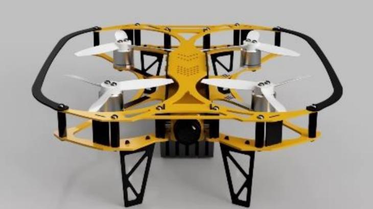 超高感度カメラを搭載した小型ドローン 新型IBISを10月よりリリース