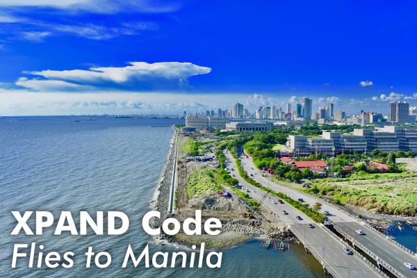 空間リンク「XPANDコード」フィリピン・マニラへ! 同国最大級のイノベーションイベントに参加!