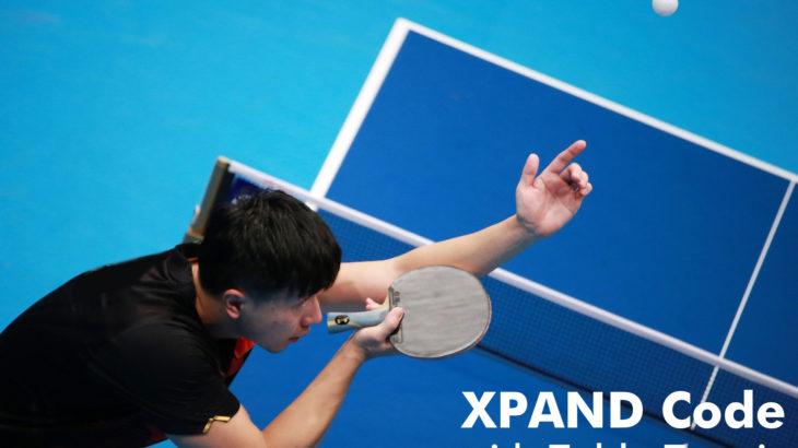 空間リンク「XPANDコード」、日本卓球リーグに登場! 後期熊本大会で全12コートから試合速報へダイレクトリンク