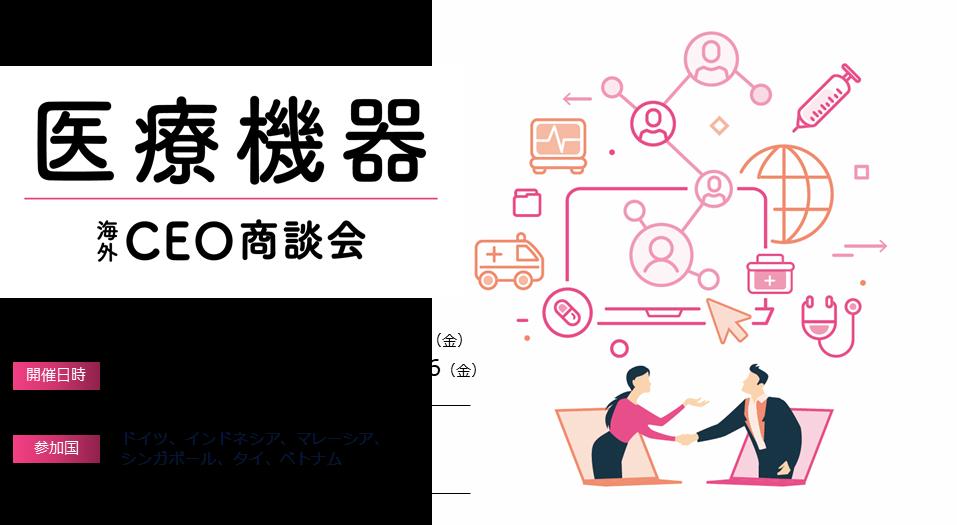 医療機器CEO商談会(オンライン)